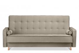 Sofa  trzyosobowa FLORENCE beżowy/brązowy