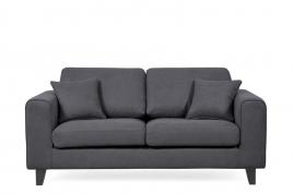 Sofa dwuosobowa TINO ciemny szary