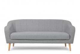 Sofa dwuosobowa SCANDI ciemny szary