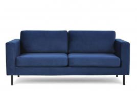 Sofa dwuosobowa TORONTO granatowy