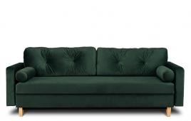 Sofa trzyosobowa  MERIDA  ciemny zielony