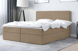 Łóżko kontynentalne HALDEN ecru casablanca