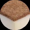 warstwa maty kokosowej
