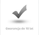 Gwarancja do 10 lat